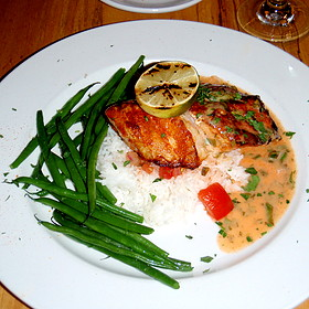 Thornton river grille restaurant sperryville va opentable for Fish river grill menu