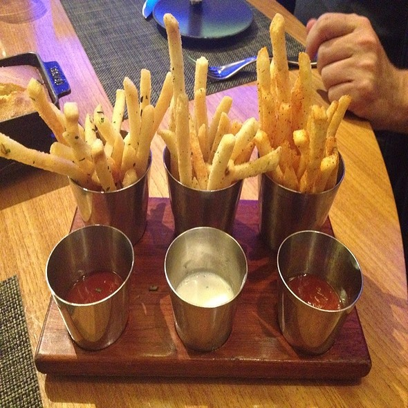 Duck Fat Fries - TAP at MGM Grand Detroit, Detroit, MI