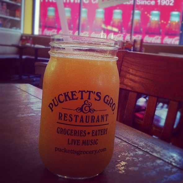 Pineapple Juice - Puckett's 5th & Church, Nashville, TN