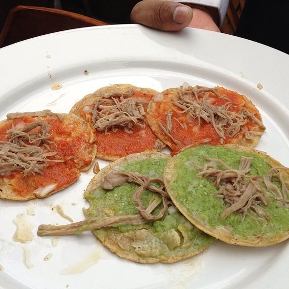 chalupas - La Noria, Puebla, PUE