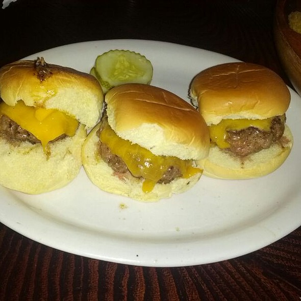 Cheeseburger Sliders - Brother Jimmy's BBQ - Miami, Miami, FL