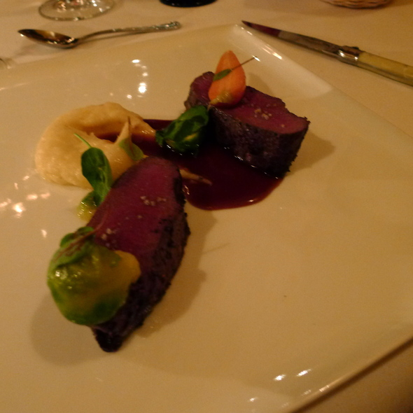 Cervena Venison Loin - The Restaurant at JUSTIN Vineyards & Winery, Paso Robles, CA
