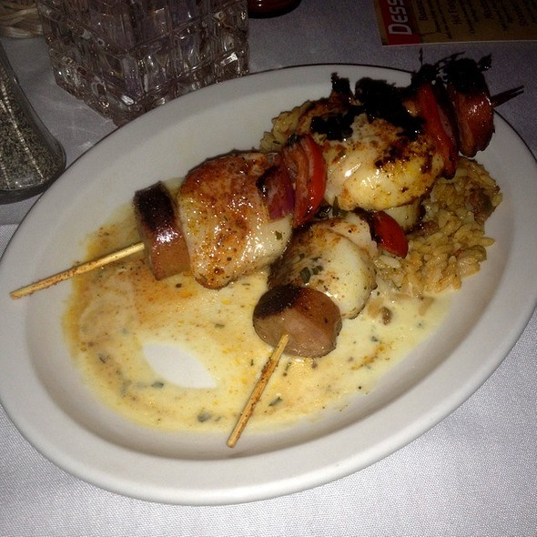 Cajun Grilled Scallops - Rhythm Kitchen Seafood & Steaks, Las Vegas, NV