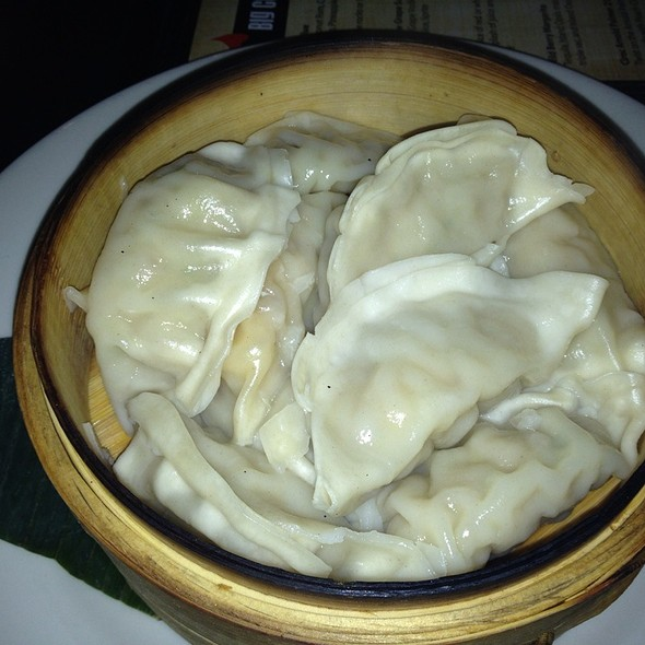 Steamed Chicken Potstickers - Big Chow Grill, Atlanta, GA