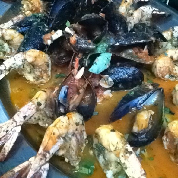 Shimp And Mussels Marinara - Barbetta Restaurant, New York, NY