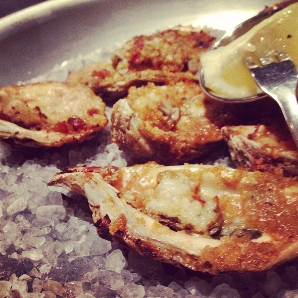 Charbroiled Oysters - Stroubes Seafood and Steak, Baton Rouge, LA