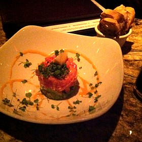 Tuna Tartare - Mercy Wine Bar, Dallas, TX