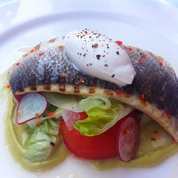 Ceviche Of Sea Bass - La Trompette, London