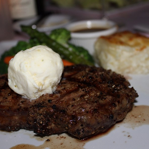 Grilled Certified Angus Beef Prime Ribeye Steak - Hau Tree Lanai, Honolulu, HI