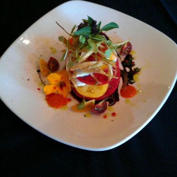 Caprese Salad - Woodlands Restaurant at Eagle Ridge Resort & Spa, Galena, IL