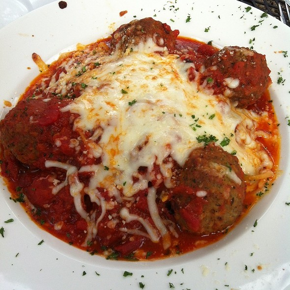 Spaghetti and Meatballs - Scusa Italian Ristorante, South Lake Tahoe, CA