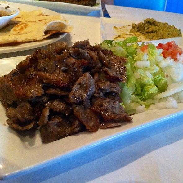 Gyro Plate - Santorini Restaurant, Danville, CA