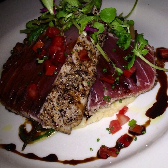 Seared Black Pepper Ahi Tuna - Pane Rustica, Tampa, FL