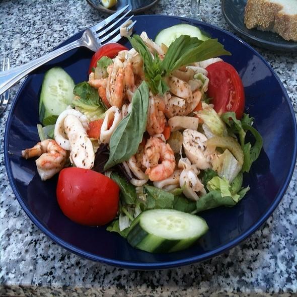 Seafood Salad - Basils Greek Dining, Aurora, IL