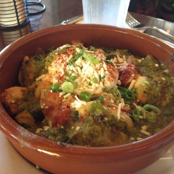 Cha Cha Hash And Poached Eggs - Cha Cha's Latin Kitchen, Brea, CA
