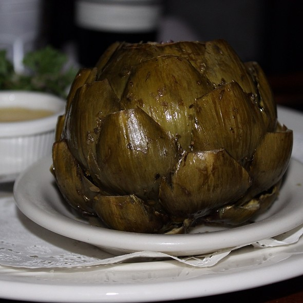 Steamed Artichoke - Chart House - Waikiki, Honolulu, HI
