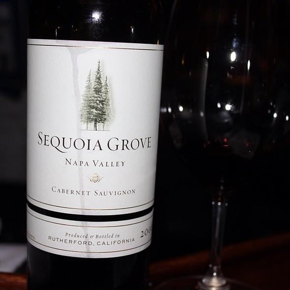 Wine: Soquoia Grove Cabernet - Chart House - Waikiki, Honolulu, HI
