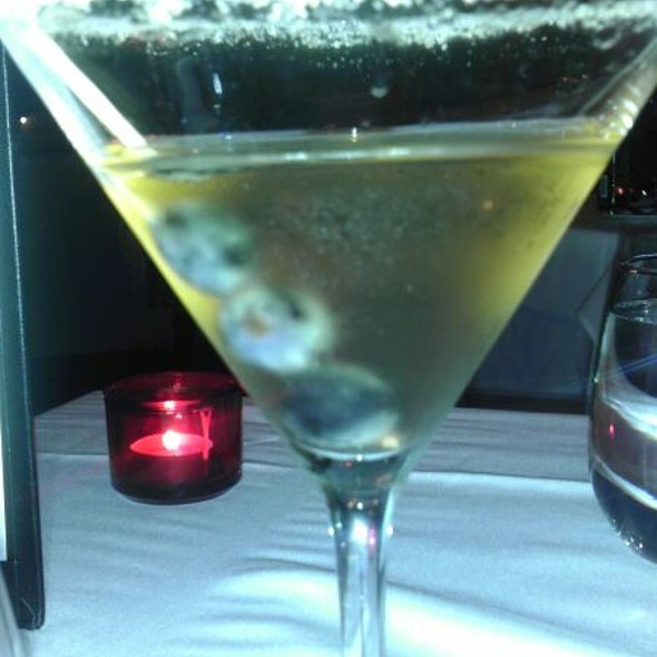 Ice Wine Martini - AG at The Sterling, Niagara Falls, ON