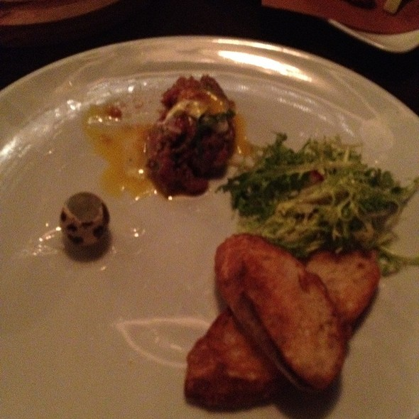 steak tartare - Republic, Bloomfield, CT