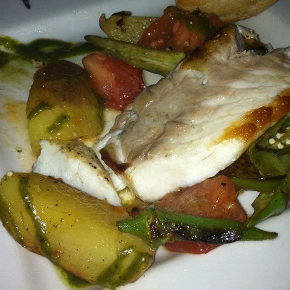 pan roasted striped bass - wink, Austin, TX