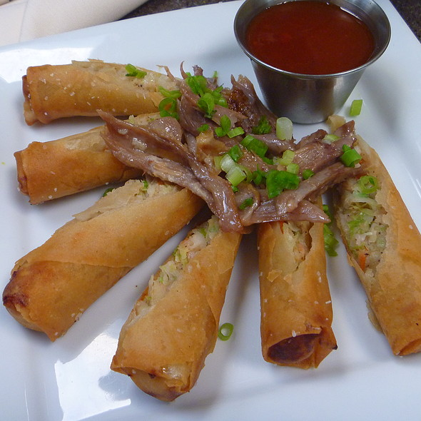Spring Rolls with Duck Confit   - The Orangery, Knoxville, TN