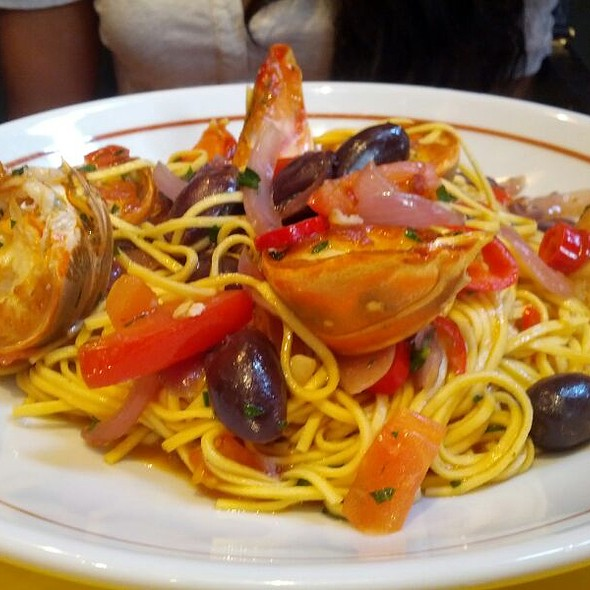 Tagliolini with Lobster - Delfino Restaurant, London
