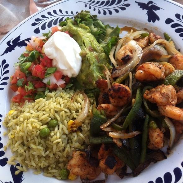 Shrimp Fajitas - Las Alamedas, Katy, TX