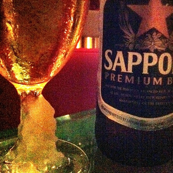 One More Sapporo - Zuma Japanese Restaurant - Miami, Miami, FL