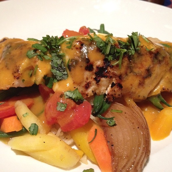 Grilled Grouper Curry - Seasons 52 - Jacksonville, Jacksonville, FL