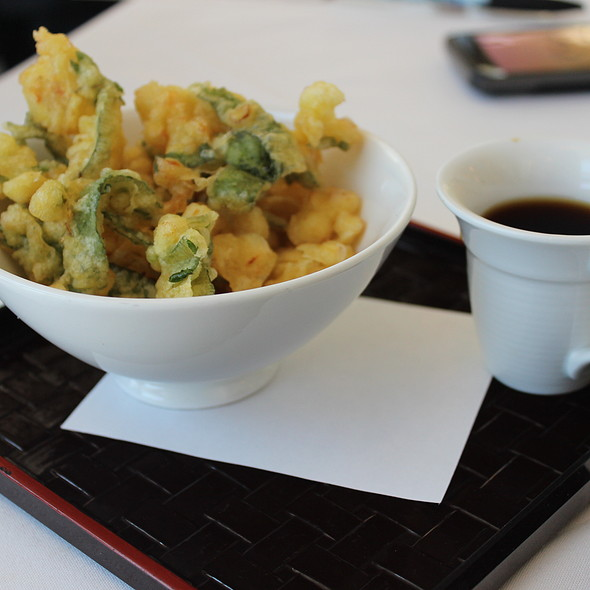 Tempura Vegetables - Hamamori Restaurant and Sushi Bar, Costa Mesa, CA