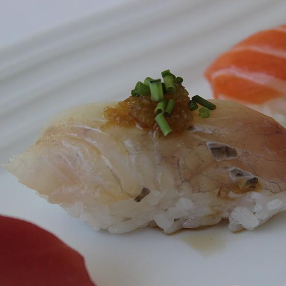 Halibut - Hamamori Restaurant and Sushi Bar, Costa Mesa, CA