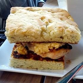 Grilled Chicken Breast Sandwich - Posana, Asheville, NC