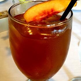 Peach Ice Tea - Las Canarias - Omni La Mansion, San Antonio, TX