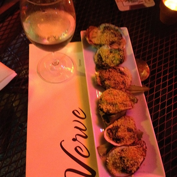 Oysters Rockefeller - Verve Restaurant, Somerville, NJ