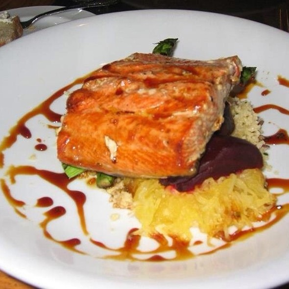 Salmon Dish - The Salmon House, West Vancouver, BC