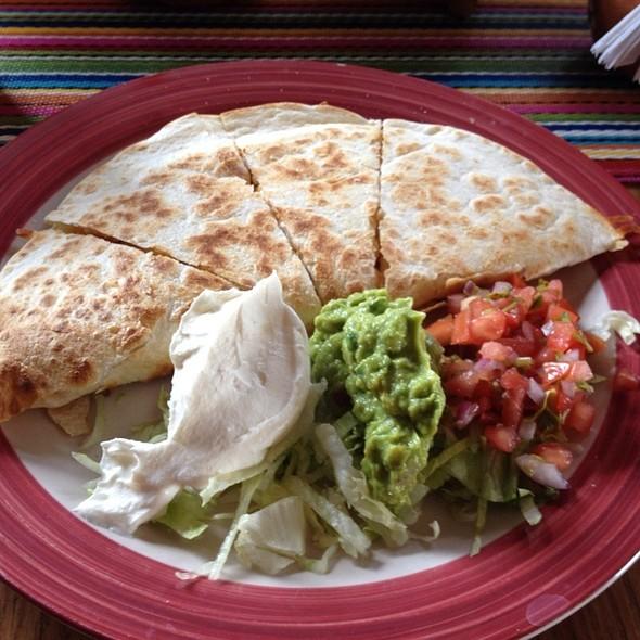 Chicken Quesadilla - La Frontera Mexican Grill, Hackensack, NJ