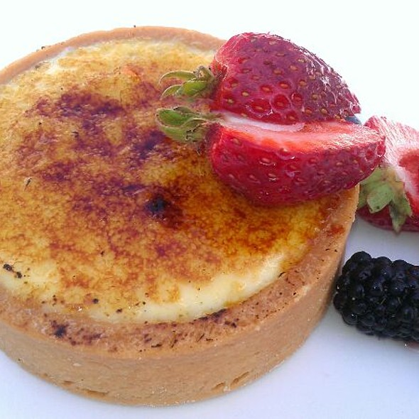 Creme Brulee - Dattilo Fine Italian at Water's Edge, Westbrook, CT