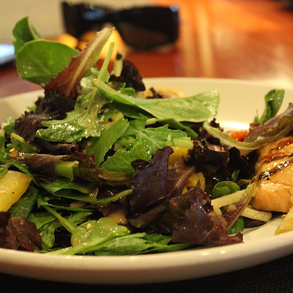 Grilled Salmon Salad - Seasons 52 - Costa Mesa, Costa Mesa, CA