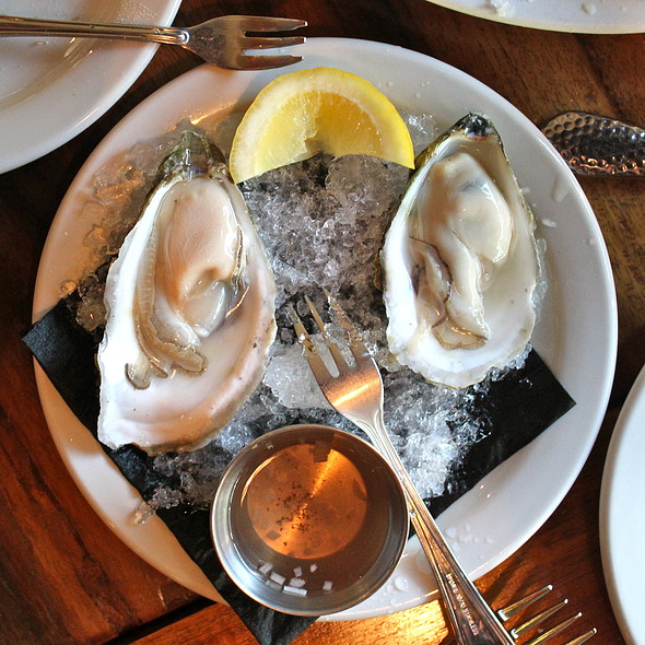 Oysters on the Half Shell - Cabezon Restaurant, Portland, OR