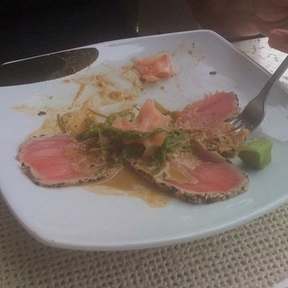 Tuna tataki - Bagatelle, Key West, FL