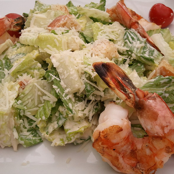 Caesar Salad With Grilled Shrimp - The Park Room, New York, NY