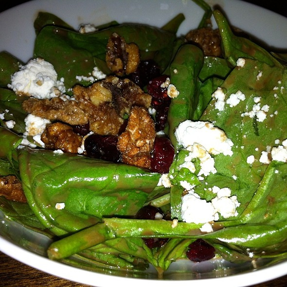 Cranberry Walnut Spinach Salad - Cafe Verona, Independence, MO