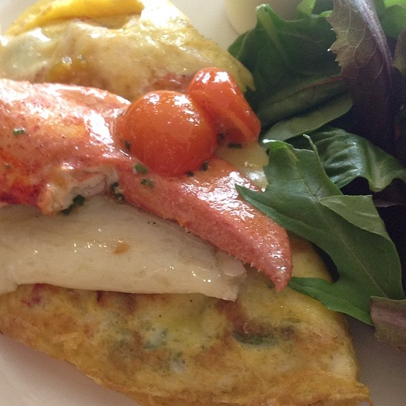 Lobster Omelette - Aragosta Bar and Bistro, Boston, MA