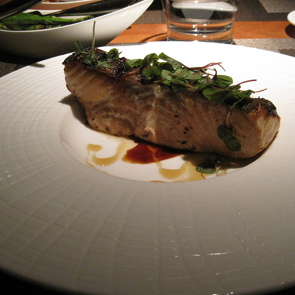 Grilled Salmon - Sidecut Modern Steak + Bar – Four Seasons Resort, Whistler, BC