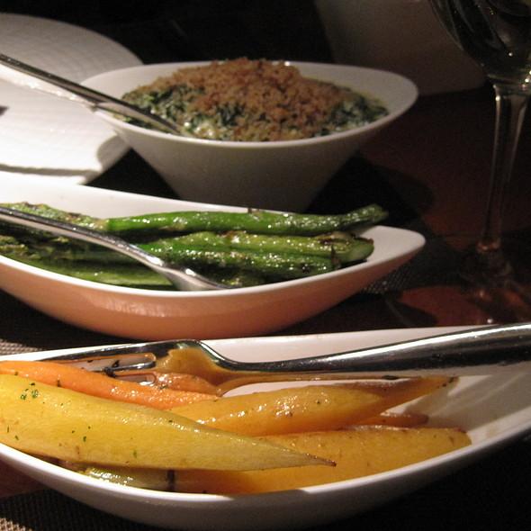 Vegetables - Sidecut Modern Steak + Bar – Four Seasons Resort, Whistler, BC