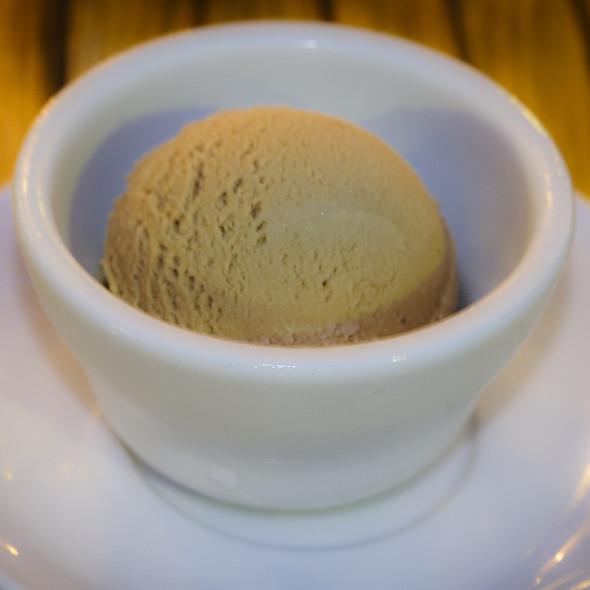 Hazelnut gelato - Trattoria 225, Oak Park, IL