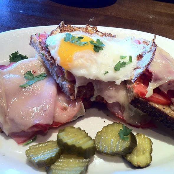 Croque Madame - M Street Kitchen, Santa Monica, CA