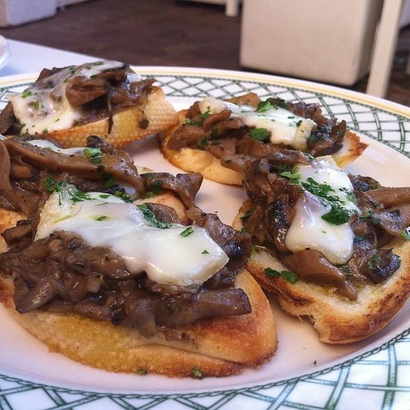 Mushroom Crostini - Ca Del Sole, North Hollywood, CA