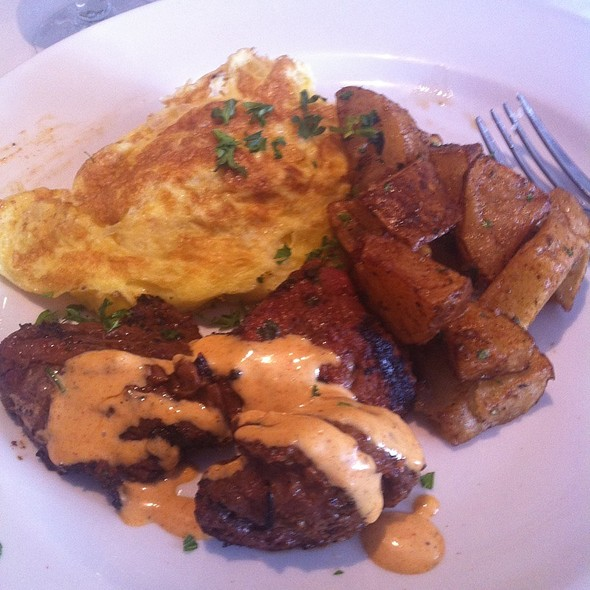 Steak and Eggs - Chef Tony's - Bethesda, Bethesda, MD