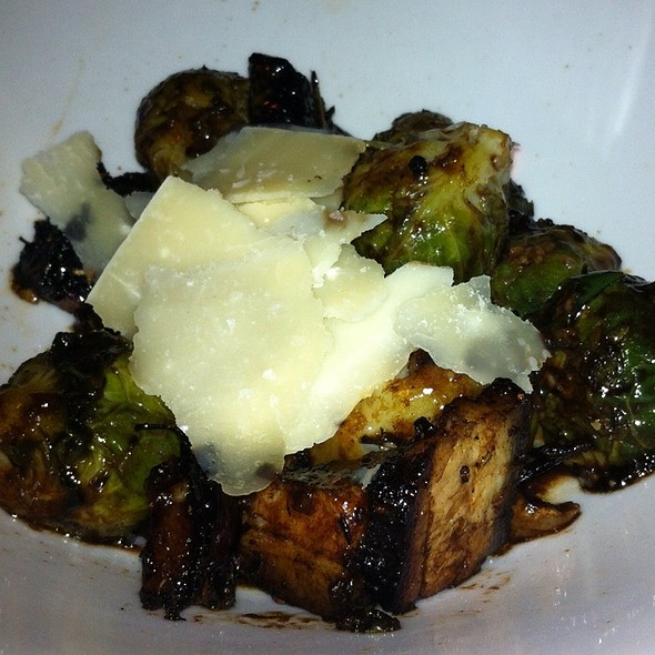 Glazed Pork Belly And Brussel Sprouts - MOJO, Fort Lauderdale, FL